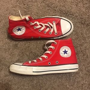 Converse All Star Red High Tops